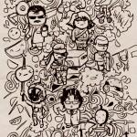 metal doodle gear
