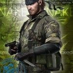 MGS3D Naked Snake (R)