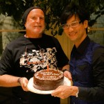 Hideo-Kojima-and-Avi-Arad-Cake