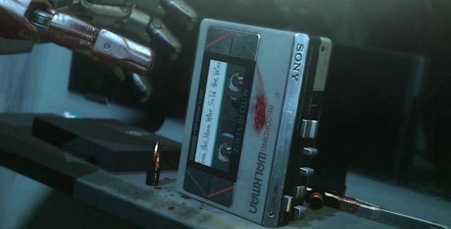 MGSV cassete tape