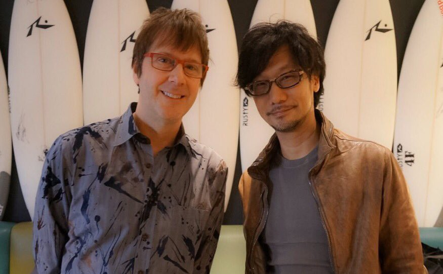 Mark-Cerny-and-Hideo-Kojima-Trip